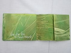 Love After Love-A Paste Paper Book | Flickr - Photo Sharing! Veronica Philips.