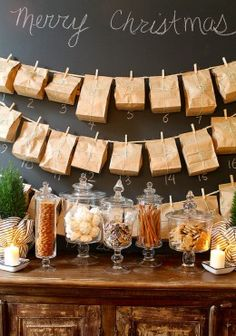 Paper Bag Advent Calendar DIY and other great ideas