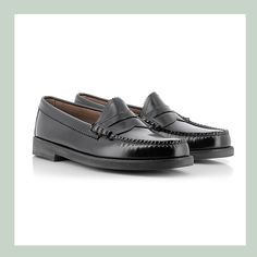 Weejuns Winter Larson Black Leather | Using high-spec smooth leather for total style and a new rubber EVA midsole for total comfort, we introduce the Winter Weejuns! | Penny Loafers Men's Collection G.H. Bass & Co. Europe