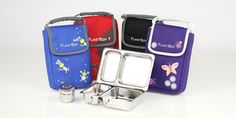 """Planet lunchbox """"shuttle"""" smaller size for snacks, mini meals, toddler meals"""