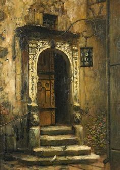 Karl Heyden (1845-1933), Herrschaftliches Portal