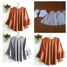 Tunic flare blouse and flare sleeve pattern  Order by line : @modelliste (with @) #modellistepattern#poladress#jualpola#jasapola#polaonline#jasapolaonline#polaonlineshop#polabaju#jualpoladress#jasapembuatanpola#polablouse#polatunik#tunicblouse#tunik#polabajutunik#polaatasan#polablousetunik