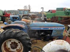 Leyland 272 tractor salvaged for used parts. This unit is available at All States Ag Parts in Downing, WI. Call 877-530-1010 parts. Unit ID#: EQ-24977. The photo depicts the equipment in the condition it arrived at our salvage yard. Parts shown may or may not still be available. http://www.TractorPartsASAP.com