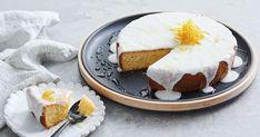 Try a new take on a classic lemon cake, with the flourless lemon buttermilk cake that still packs a zesty punch. Lemon Dessert Recipes, Almond Recipes, Sweet Recipes, Baking Recipes, Cake Recipes, Vegan Recipes, Gluten Free Cakes, Gluten Free Baking, Lemon Buttermilk Cake Recipe