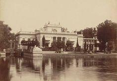 Pałac na Wodzie w Łazienkach Królewskich. fot. 1870-, Konrad Brandel, źr. Mazowiecka Biblioteka Cyfrowa, źr. livejournal.com