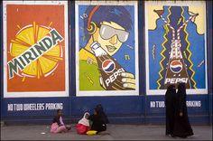 Graffiti Adverts, Hyderabad, India #india Pakistan Art, India India, Illustration Art, Illustrations, Hyderabad, Graffiti, Painting, Illustration, Painting Art