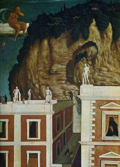 Giorgio de Chirico ~ Strange Travelers
