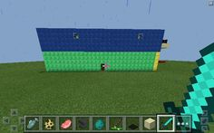 My two story house in minecraft♥