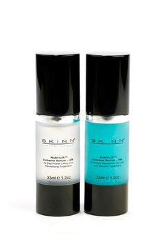 skinn cosmetics face and eye lotion