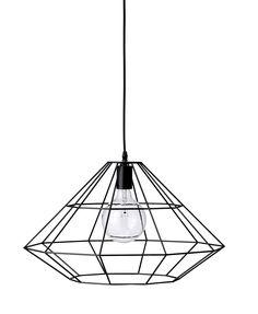 Lampa wisząca Pernille duża czarna - małe zdjęcie