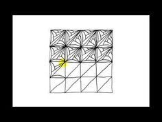 Zentangle Patterns | Tangle Patterns - Hi-Cs - YouTube
