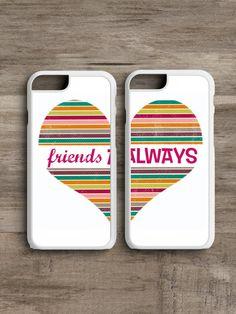 Friends Always Heart- Cell Phone Case SET