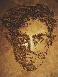 face, kitchen, diy, art, seeds