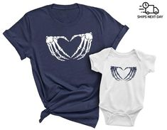 Love and Peace Halloween Matching Family T-shirts with Matching Family T Shirts, Grandpa Gifts, Kids Shorts, Father And Son, Custom Items, Baby Bodysuit, Workout Shirts, Peace And Love