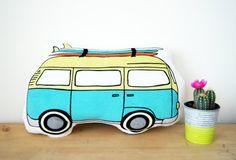 VW Bus almohadilla de la felpa almohadilla del autobús de