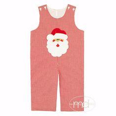 8a9c62cca73 Delaney Santa Boys Appliqued Christmas Longall. Drake ChildSanta FaceChildren s  BoutiqueToddler ...