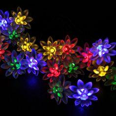 LED-LOTUS-20-MULTI  #WYZ #WYZworks #LED #lighting #Decoration #Solar #SolarLED Solar Led, Led String Lights, Lotus, Lighting, Decoration, Plants, Decor, Lotus Flower, Lights