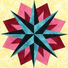 Wezen Quilt Block Pattern