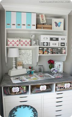 The House of Smiths - Home DIY Blog - Interior Decorating Blog - Decorating on a Budget Blog - built in shelves