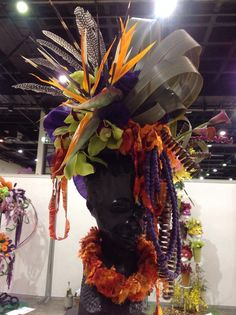 """Won first prize for this imposed design at the Orchid Show (Johannesburg) - title """"My African Queen"""" 2014"""