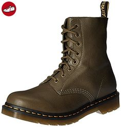 Dr Martens Pascal Green Virginia, Schuhe, Stiefel & Boots, Stiefel, Braun, Female, 36