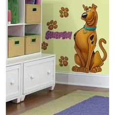 Scooby-Doo Giant Wall Decal RMK1607GM  $18.49