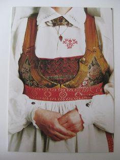 kvinna från Ingelstad, Woman dress from Ingelstad, Sweden