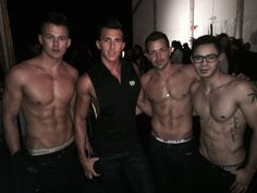 Murray, Kevin, Mat and Steven at  Style Fashion Week - Los Angeles