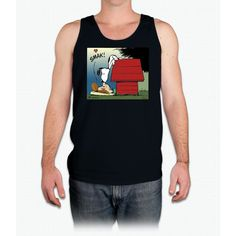 Snoopy Kiss Tank Top Unisex