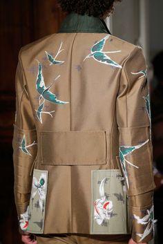 Valentino Spring 2016 Menswear Fashion Show Details | MEN | DETAILS | PRINT | JACKET | PATTERN | DESIGN | BESPOKE | SS16