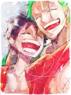 Luffy and Zoro