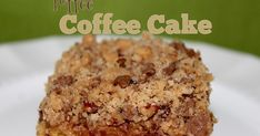 A delightful coffee cake at a brunch, oh yes! Making that coffee cake extraordinary with toffee, double yes!! Brunch Bonanza continues w...