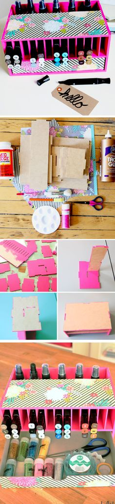 DIY Marker and Pen Holder | Click Pic for 18 DIY Back to School Crafts for Teens to Make | Easy Back to School Crafts for Kids to Make