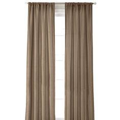 jcp | Royal Velvet® Encore Rod-Pocket/Back Tab Curtain Panel