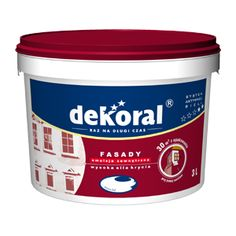 Farba akrylowa wodorozcieńczalna przeznaczona jest do dekoracyjno-ochronnego malowania elewacji budynków. Jest ekologiczna, nowoczesna farba emulsyjna tworząca gładkie, matowe i dobrze trzymające się podłoża powłoki.