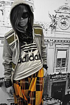 Jeremy Scott + Adidas