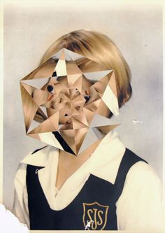 Julie Cockburn - cutting up images and creating something new: