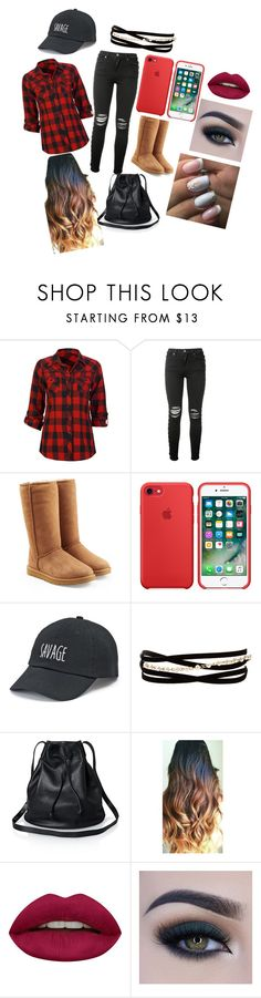 """Black"" by lephly on Polyvore featuring interior, interiors, interior design, hogar, home decor, interior decorating, Full Tilt, AMIRI, UGG y SO"