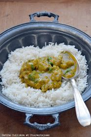 Curry d'agneau du Limousin // #recette #curry
