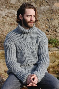 men's sweater - I would dig this in green