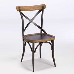 Add authentic character to your home with the Rafeal Birma Dining Chair, made from reclaimed metal and elm wood.