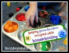 This book has a ton of great ideas on keeping preschoolers busy at home!