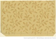 French wallpaper circa 1799.  Good for a quilt calico print.