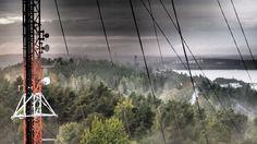 View towards Haulitorni from Pyynikki Tower, Tampere, Finland. #tampereblog #tampereallbright