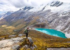 Lost in the beauty. Santa Cruz Trek Peru Andes!...