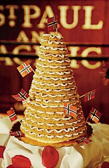 norwegian wedding cake tradition kransekake wedding cake definitely need this 17932