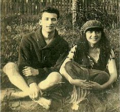 Allen ginsberg's parents, louis and naomi.  My favorite Ginsberg poem is Naomi.  She was beautiful.