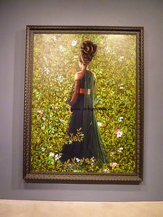 """Kehinde-Wiley- """"An Economy of Grace"""" was inspired by the marginalization of African-American women in art history."""