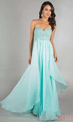 Beaded Prom Dress by Dave and Johnny 7608 at PromGirl.com $298