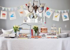 Everything Has Its Wonders: ABC Baby Shower Inspiration